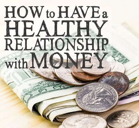 healthier relationship with money